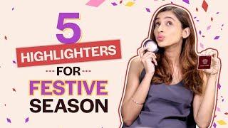 Best Highlighters For Festive Season| Makeup| Beauty| Pinkvilla