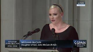 Meghan McCain tribute to her father, Senator John McCain -- FULL VIDEO (C-SPAN)