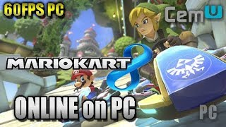 [CEMU 1.11.0] Mario Kart 8 - ONLINE GAMEPLAY (Wii U Emulator for PC) (60FPS)
