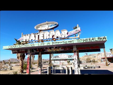1250 What The Abandoned ROCK-A-HOOLA Waterpark Looks Like Now - Jordan The Lion Travel Vlog (2/21/20