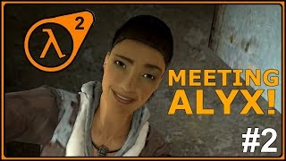 Half Life 2 Funny Moments Gameplay PC - Part 2 (HL 2 Steam Edition)