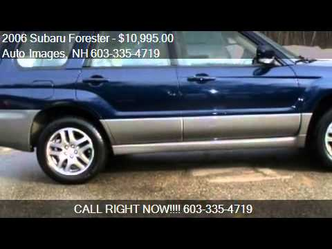 2006 subaru forester 2 5x l l bean edition for sale in roc youtube. Black Bedroom Furniture Sets. Home Design Ideas