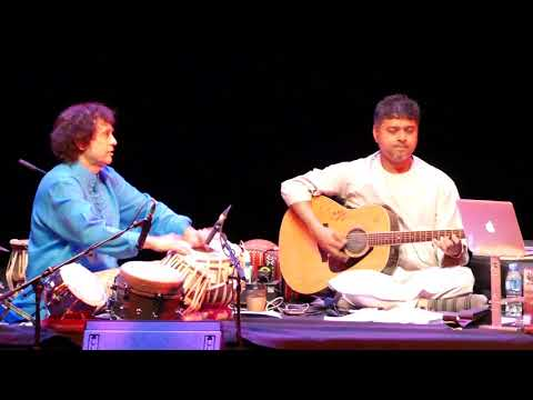 Zakir Hussein & Hariharan Performing 3