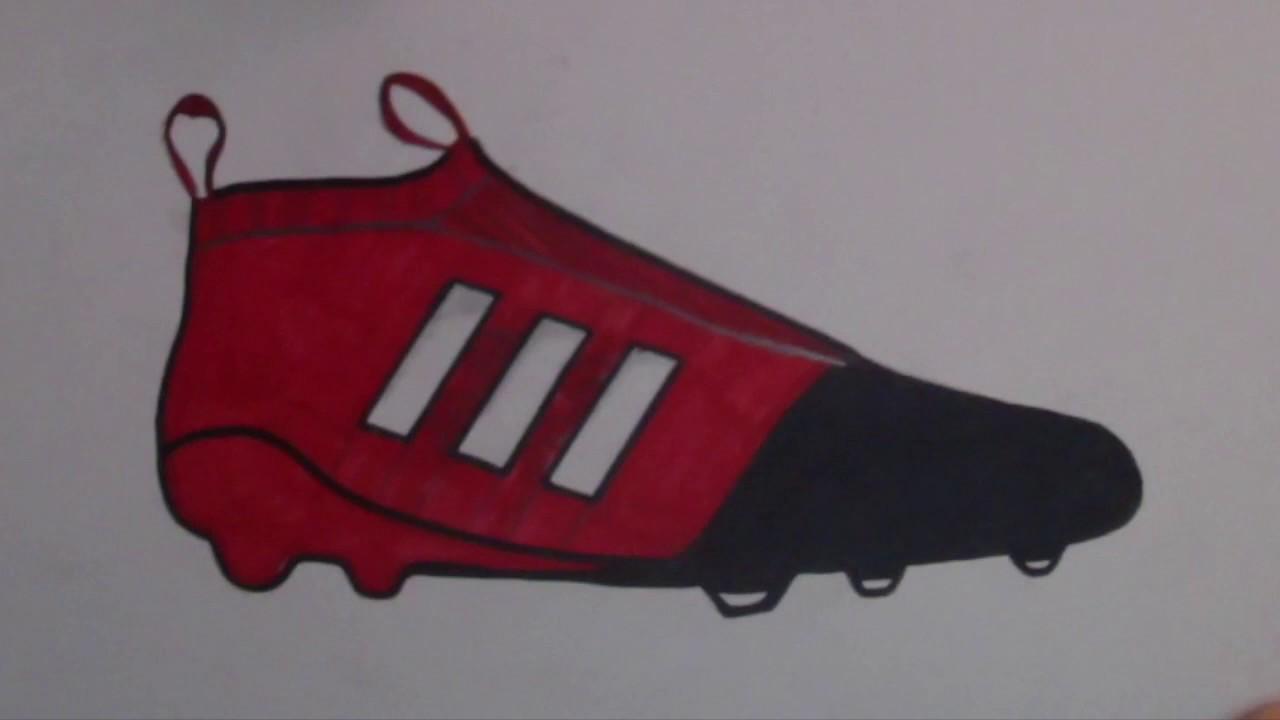 Adidas Dibujando Youtube Purecontrol Bota Dibujando Bota xTqwpq