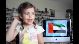 UAE National Anthem sung by Susanna
