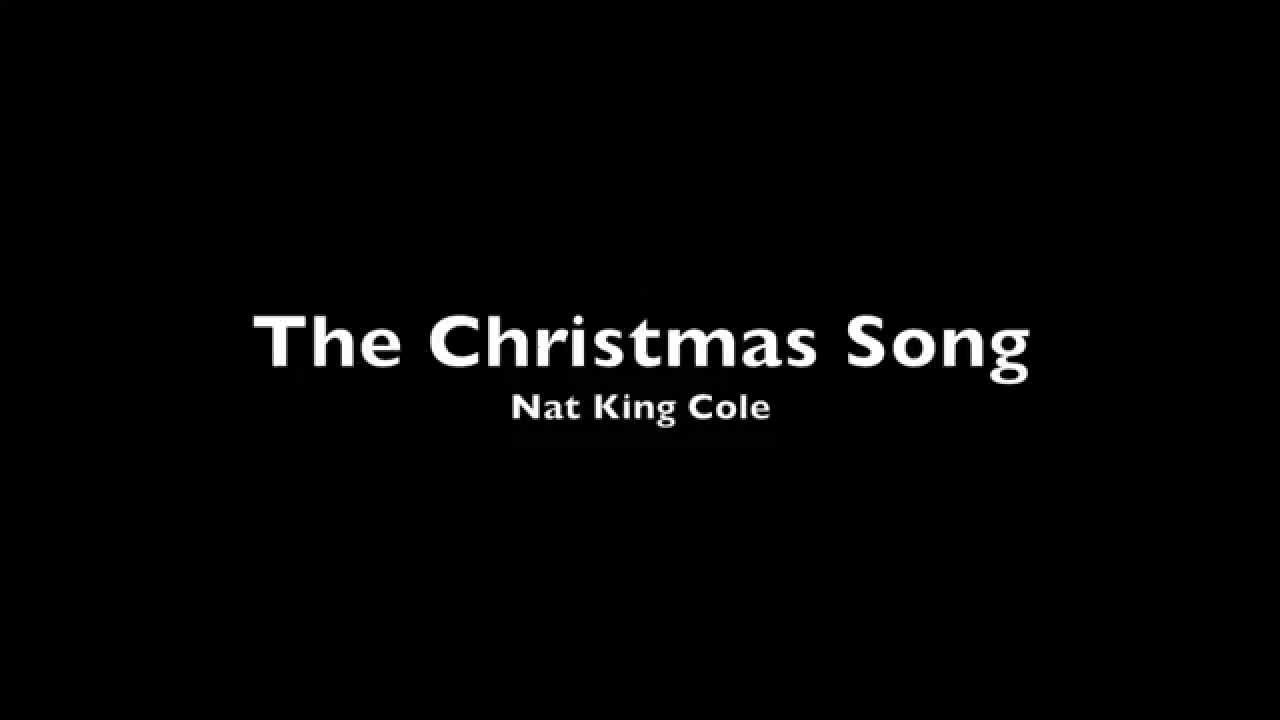 Nat King Cole - The Christmas Song (Piano Cover) - YouTube