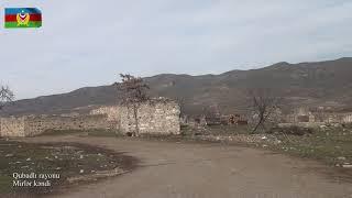 Qubadlı rayonunun Mirlər kəndindən videogörüntülər