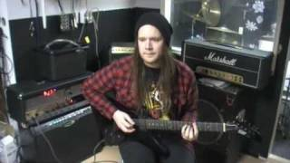 In Flames - Disconnected (Guitar Cover) Awesome Sound Quality