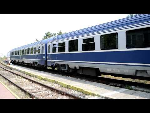 R983 Bucuresti Nord - Mangalia / Romanian Express Train 983 Bucharest Central - Mangalia