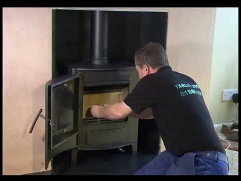 How To Install A Wood Burning Stove Youtube