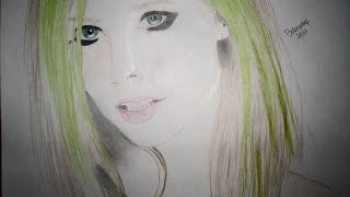 Avril Lavigne ( Speed-Drawing)