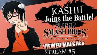 kashii - PLAYING WITH VIEWERS (Super Smash Bros Ultimate Stream #1)