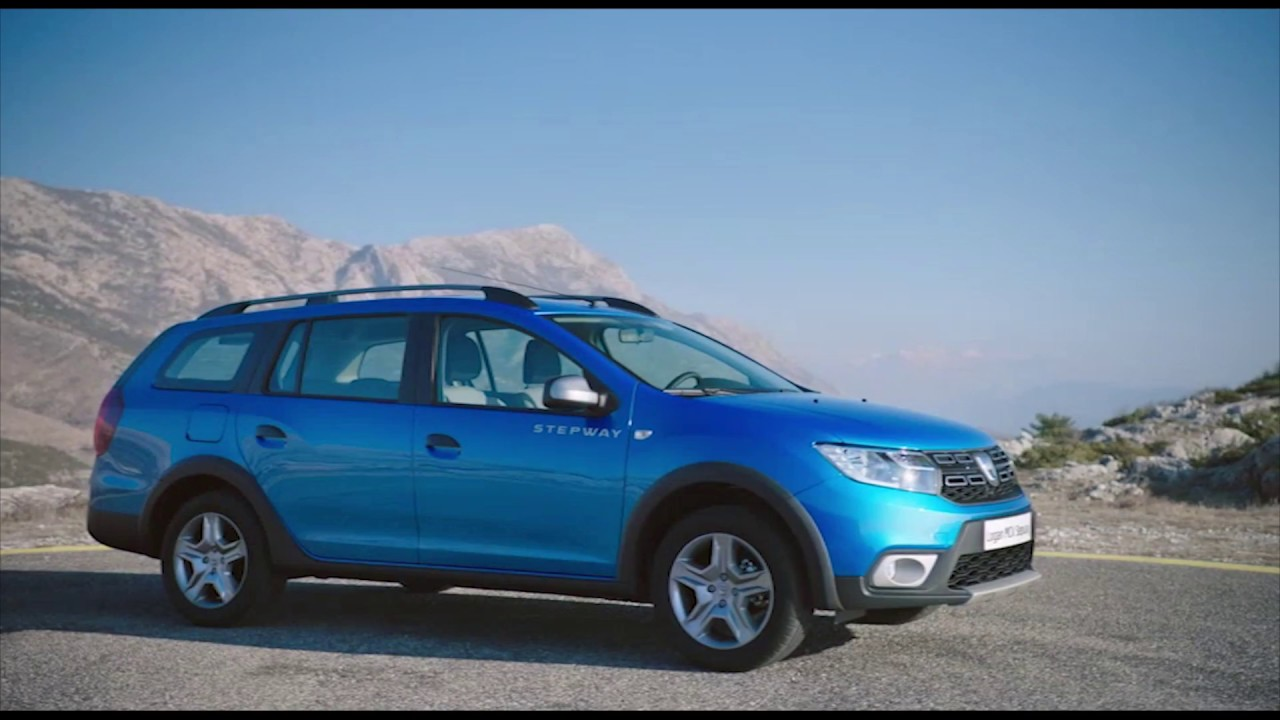 2017 new dacia logan mcv stepway exterior design in blue trailer automototv youtube. Black Bedroom Furniture Sets. Home Design Ideas