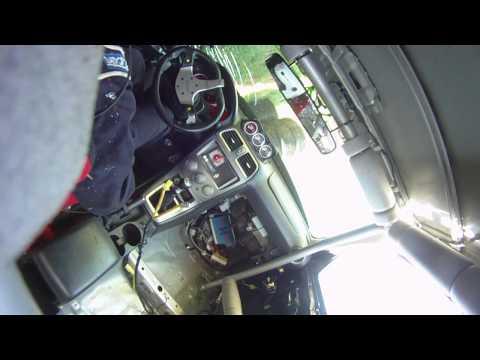 Element Tuning Time Attack STi 148 MPH Crash. Failed Spoiler