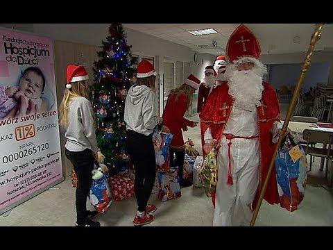 Mikołaj odwiedził Podkarpackie Hospicjum dla Dzieci