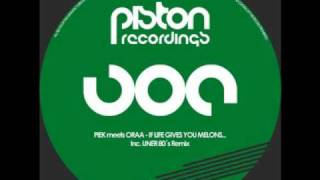 Piek meets Oraa - If Life Gives You Melons (Original Mix)