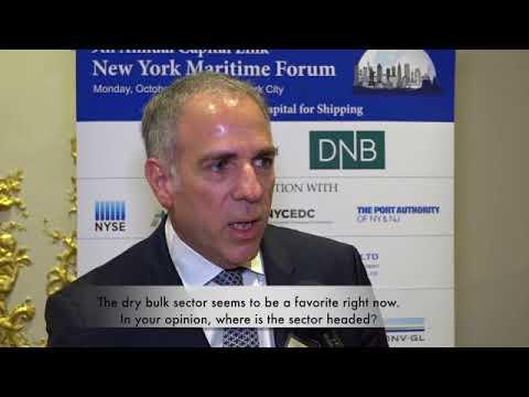 2017 9th Annual New York Maritime Forum - Mr. Nicholas Notias Interview