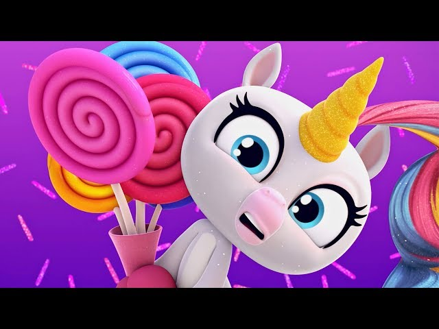 Fingerlings Tales | Too Much Candy For Gigi The Unicorn? | Kids Cartoons