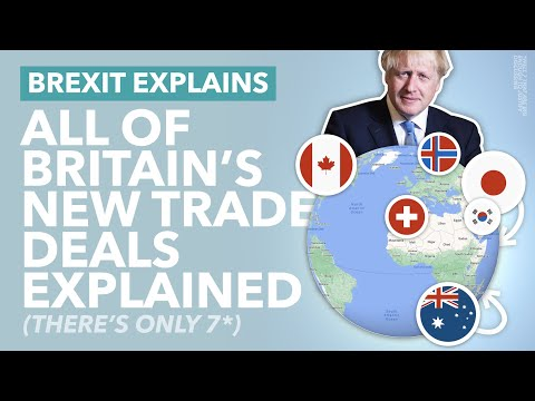 Brexit: The UK's Seven Major New Trade Deals Explained (Are They Ready for Brexit?) - TLDR News