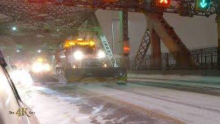 Canada: Tempête par temps glacial / Coldest snowstorm in 100 years 1-20-2019
