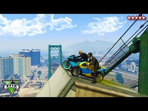 GTA 5 Unbelievable BIKE STUNT MAPS!!! | Epic Fun Tricks & Stunts on GTA Online (GTA 5 Gameplay)