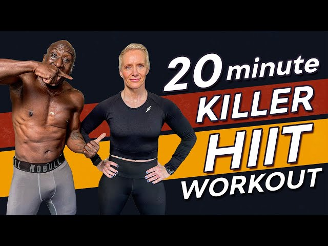 20 MINUTE KILLER BODYWEIGHT HIIT WORKOUT