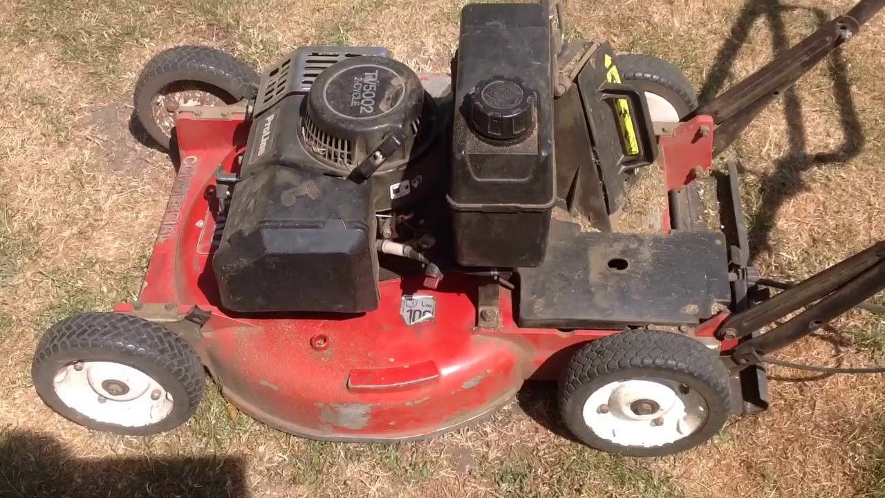 Toro Commercial 2 Stroke Mower (Bonus Repair Video) Lawnmower