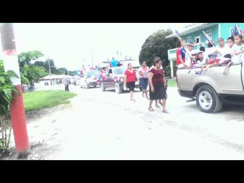 Pentecostal School March Highlights, Guinea Grass, Belize