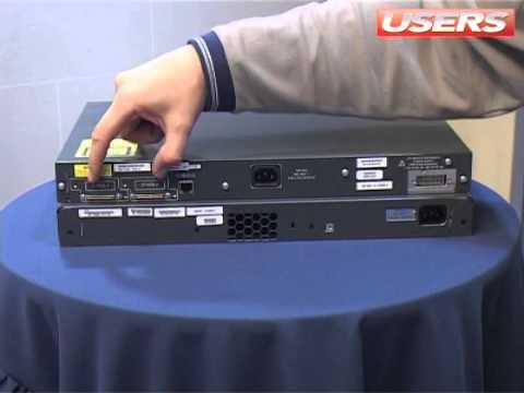 Servidor 1 - Switch catalyst 3750 - Cisco