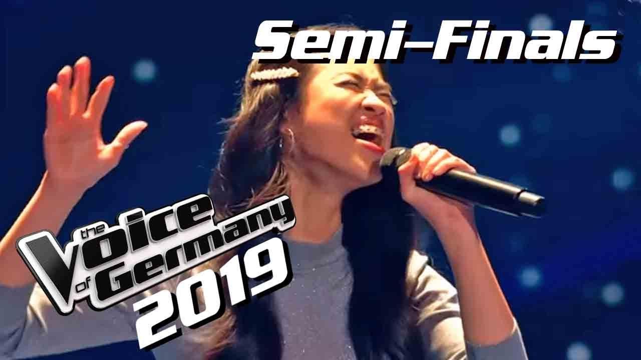 Beyoncé - Listen (Claudia Emmanuela Santoso)   The Voice of Germany 2019   Semi-Finals