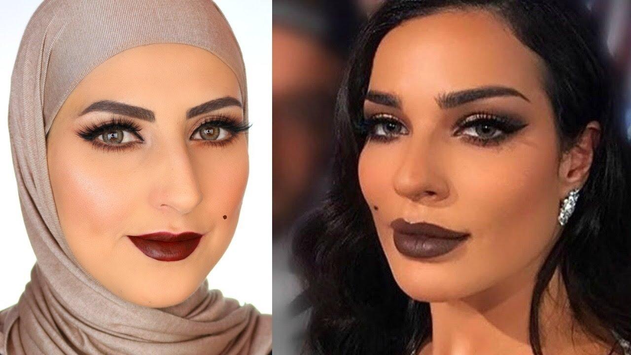 6705bbe0ac2e5 Nadine Njeim Makeup مكياج نادين نجيم - YouTube
