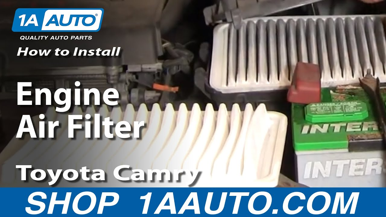 How To Install Replace Engine Air Filter Volkswagen Passat 02 05 1AAuto.com