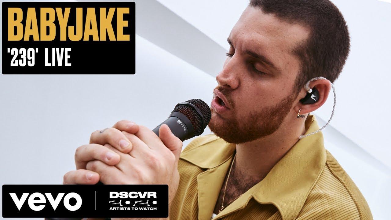 BabyJake - 239 (Live) | Vevo DSCVR Artists to Watch 2020