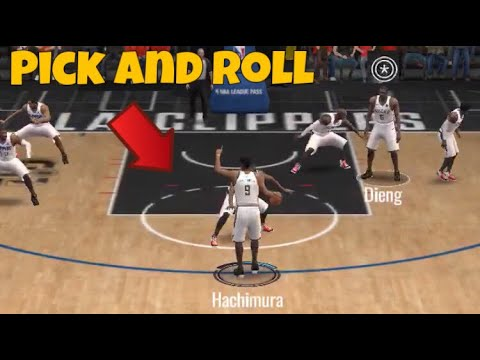 HOW TO PICK AND ROLL IN SEASON 4 | NBA Live Mobile