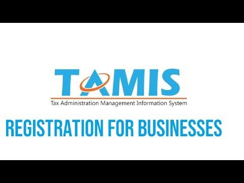 TAMIS Registration Tutorial for Businesses thumbnail