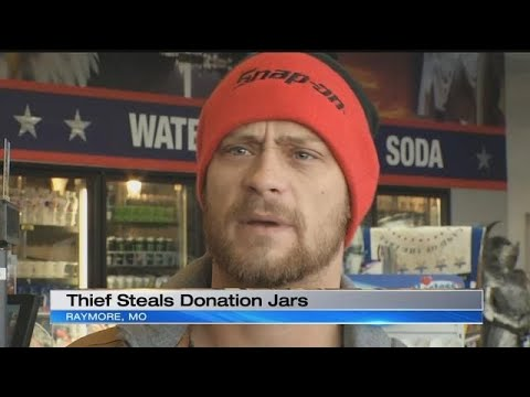 Donation jars helping veterans, first responders swiped from Raymore gas station