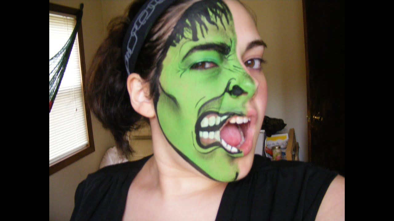Frog Face Painting Images