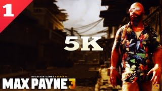 MAX PAYNE 3 5K PC GAMEPLAY ►No. 1◄ | 4K Video | 4x GTX-980 SC | Dell UP2715K | ThirtyIR.com