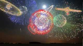 New Years 2013 - Synchronized Epic Music (Heart of Courage) - FWSim Fireworks Display - HD thumbnail