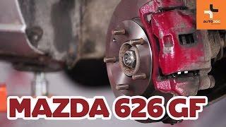 Як поміняти передні гальмівні диски і гальмівні колодки Mazda 626 GF ІНСТРУКЦІЯ | AUTODOC