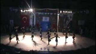 MUĞLA ÜNİVERSİTESİ 26.04.2008 TÜRKİYE FİNALİ (MARMARİS) - TÜRK HALK DANSLARI TOPLULUĞU.