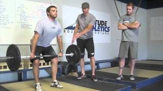 power clean technique