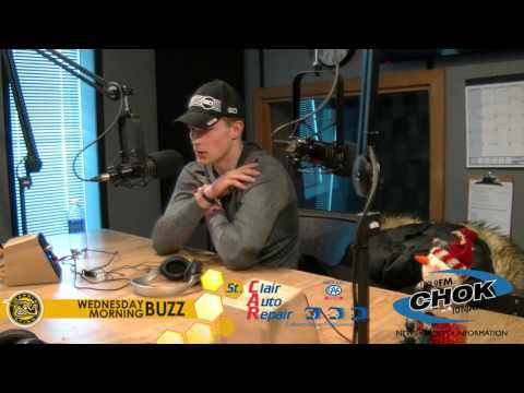 Jacob Chychrun on the Wednesday Morning Buzz