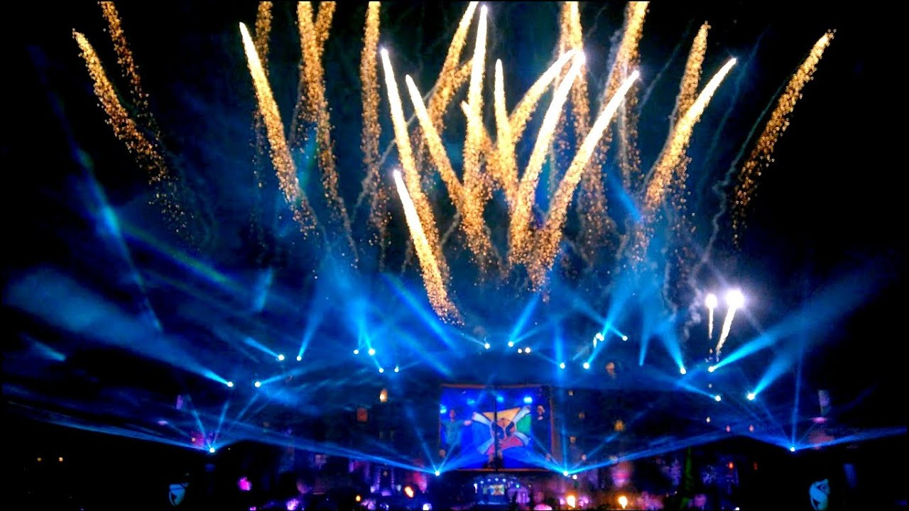 Tomorrowland Brasil 2015 Fireworks 4k Dimitri Vegas
