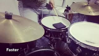Ghost notes/control drum exercise by Carlos Girón