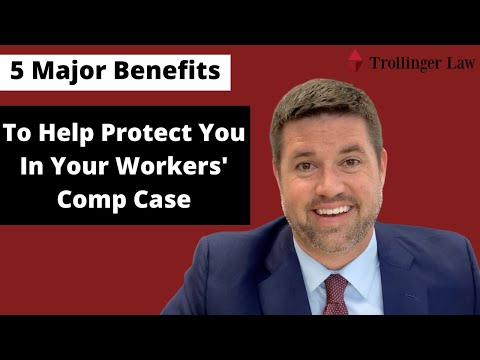 5 Major Benefits To Help Protect You In Your Workers' Comp Case - Trollinger Law LLC - Waldorf, MD