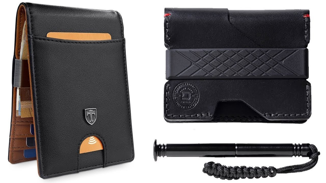 7 Best Wallets 2018 Coolest Wallet You Can Buy On Amazon Youtube