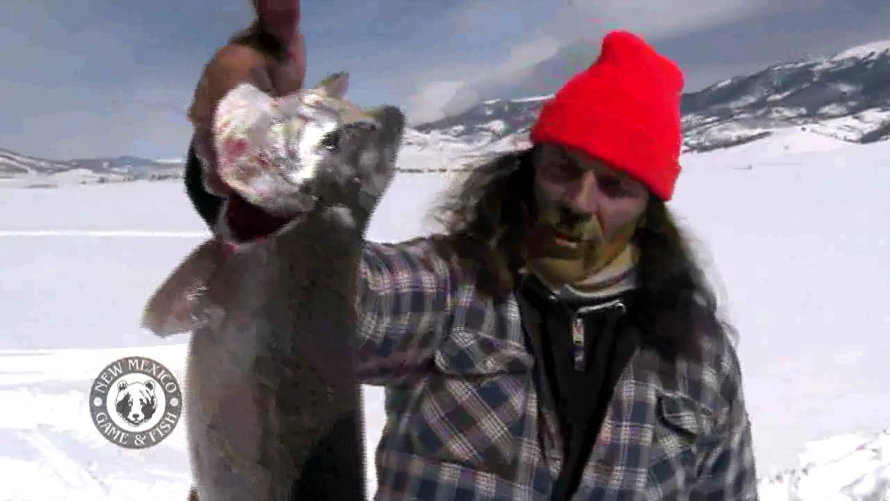 Ice fishing at eagle nest lake state park youtube for New mexico game and fish login