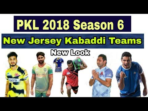 New Jersey And Dress,look  All 12 Kabaddi teams In Pro Kabaddi League 2018 Season 6 Official