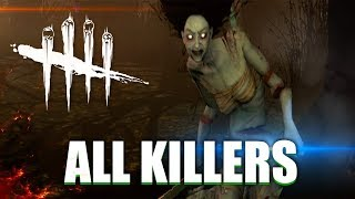 "Dead By Daylight - ""All TRAILERS & KILLERS"" - DEAD BY DAYLIGHT EVOLUTION 2018 (AUGUST)"